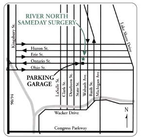North Shore Surgery Center Directions