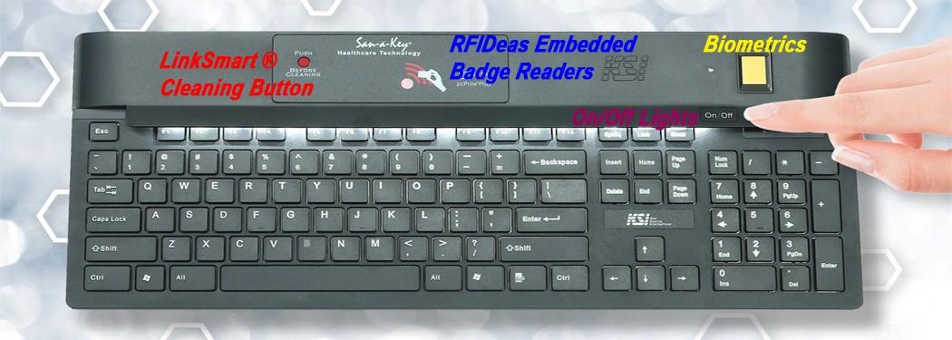 KSI Medical Security Keyboards