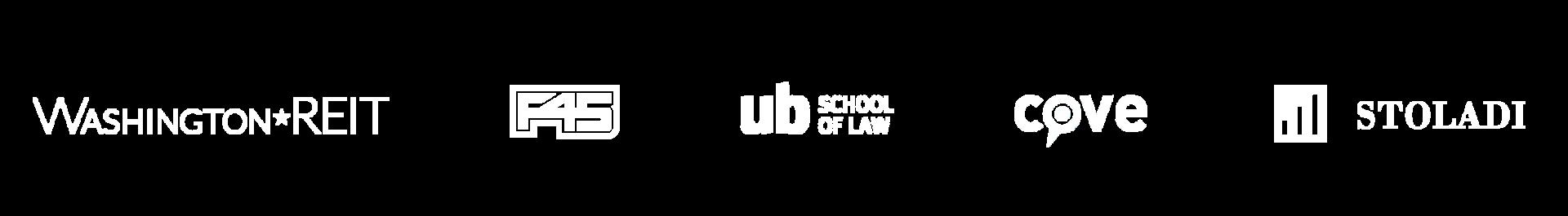 website logos in line