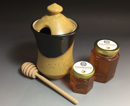 Pottery Honey jar