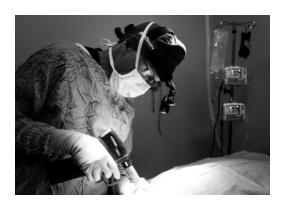 Surgeon in surgery