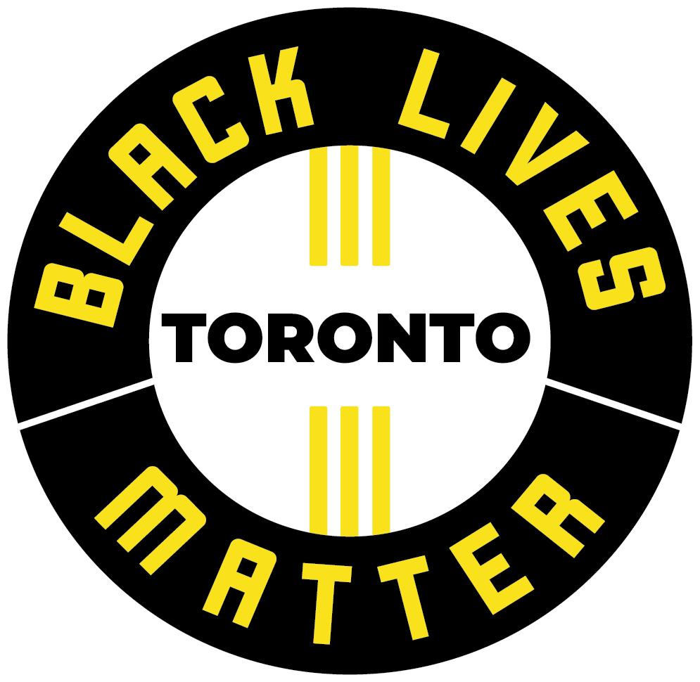 BLM Toronto Badge