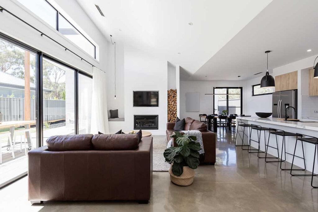 Fort Lauderdale Epoxy Floor Coating Living Room