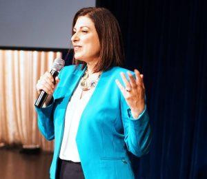 female business speaker for events - Monique Tallon