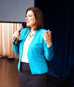 female speaker for events - Monique Tallon