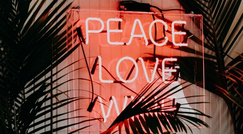 plant and peace love