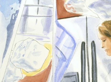 Artist: Lenin Delsol > Style: Watercolor > Category: Products, Lifestyle