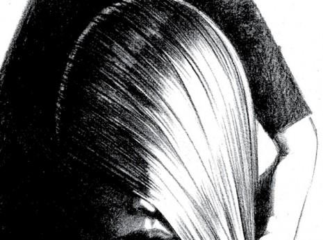 Artist: Lenin Delsol > Style : B&W Tone > Category: Women, Beauty, Hair