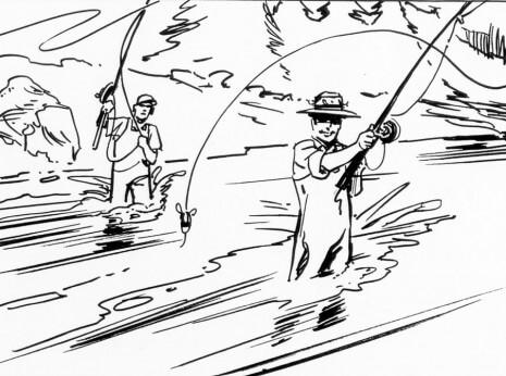 Artist: Lenin Delsol > Style: B&W Ink > Category: Men, Lifestyle