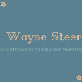 2020 Outstanding Fundraising Professional: Wayne Steer