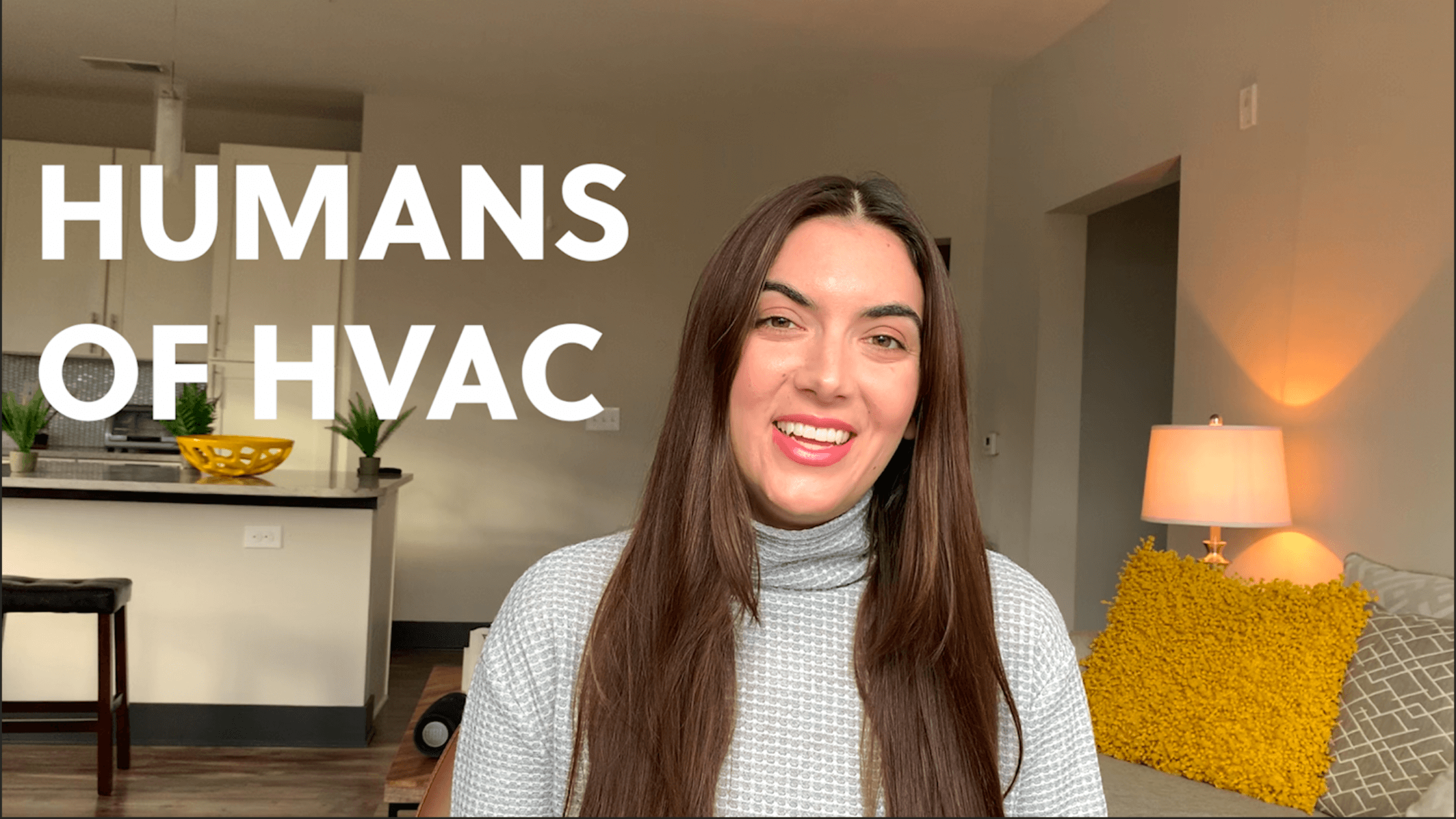 Featured in Humans of HVAC for their Women in HVACR series