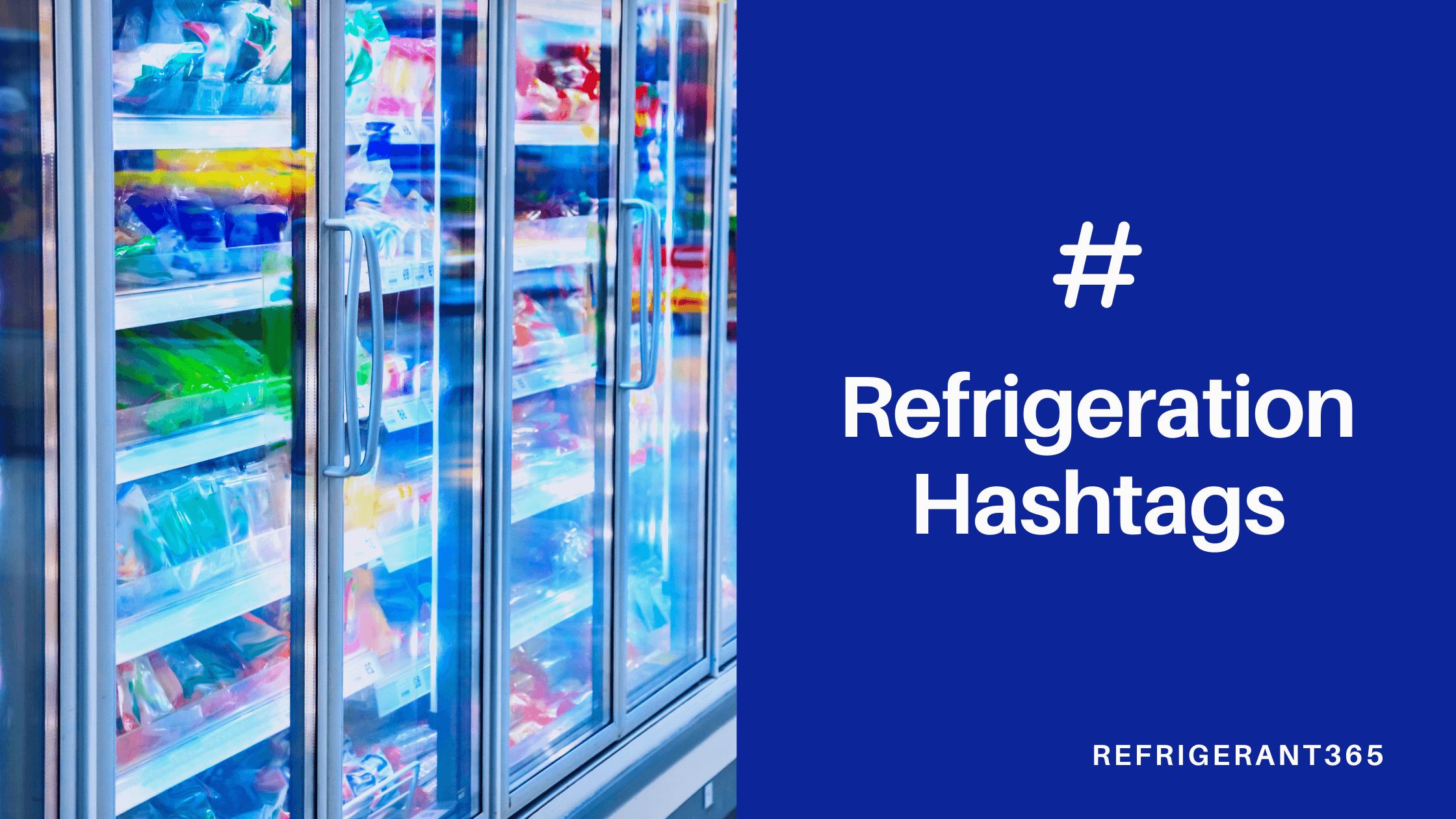 Refrigeration Hashtags