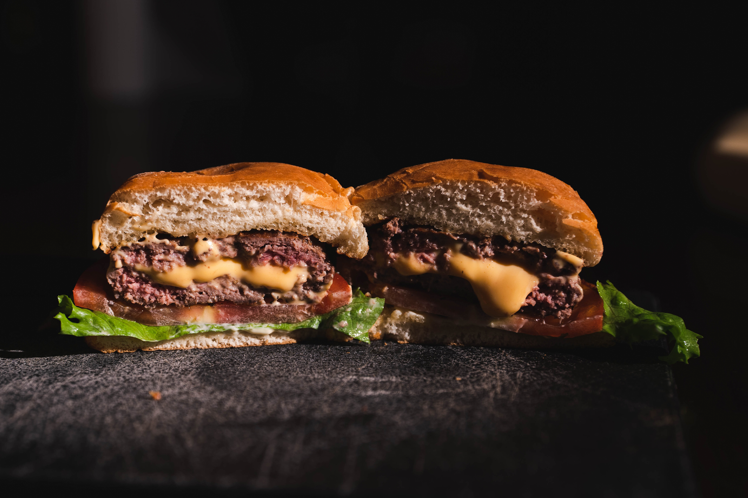 Cheddar & Jalapeño Stuffed Burgers
