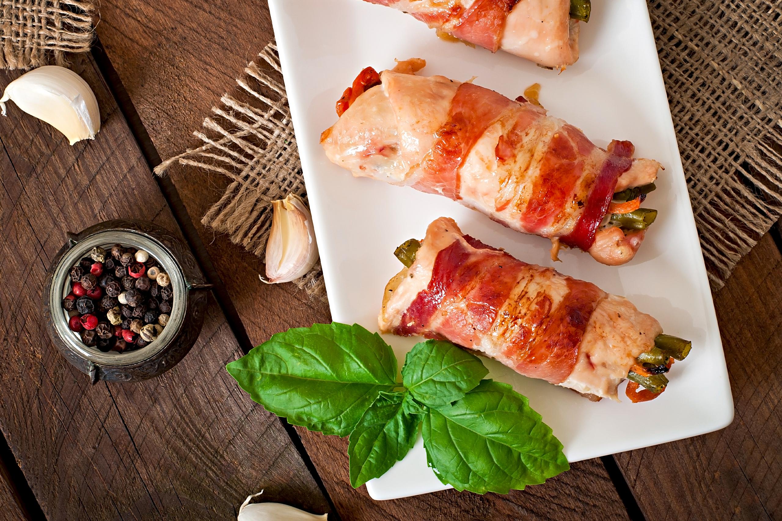 Bacon Provolone Chicken