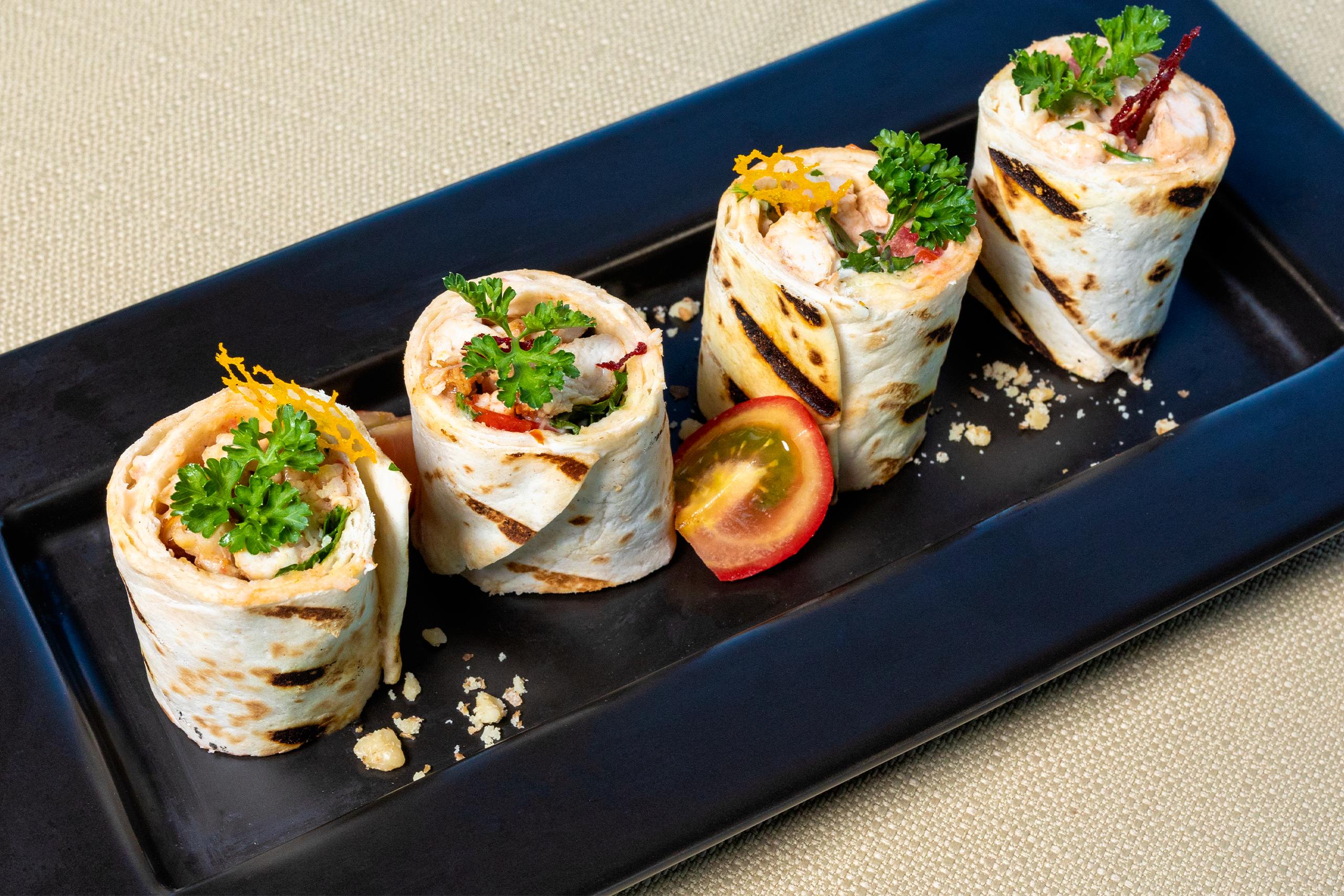 Chicken Spinach Roll-up