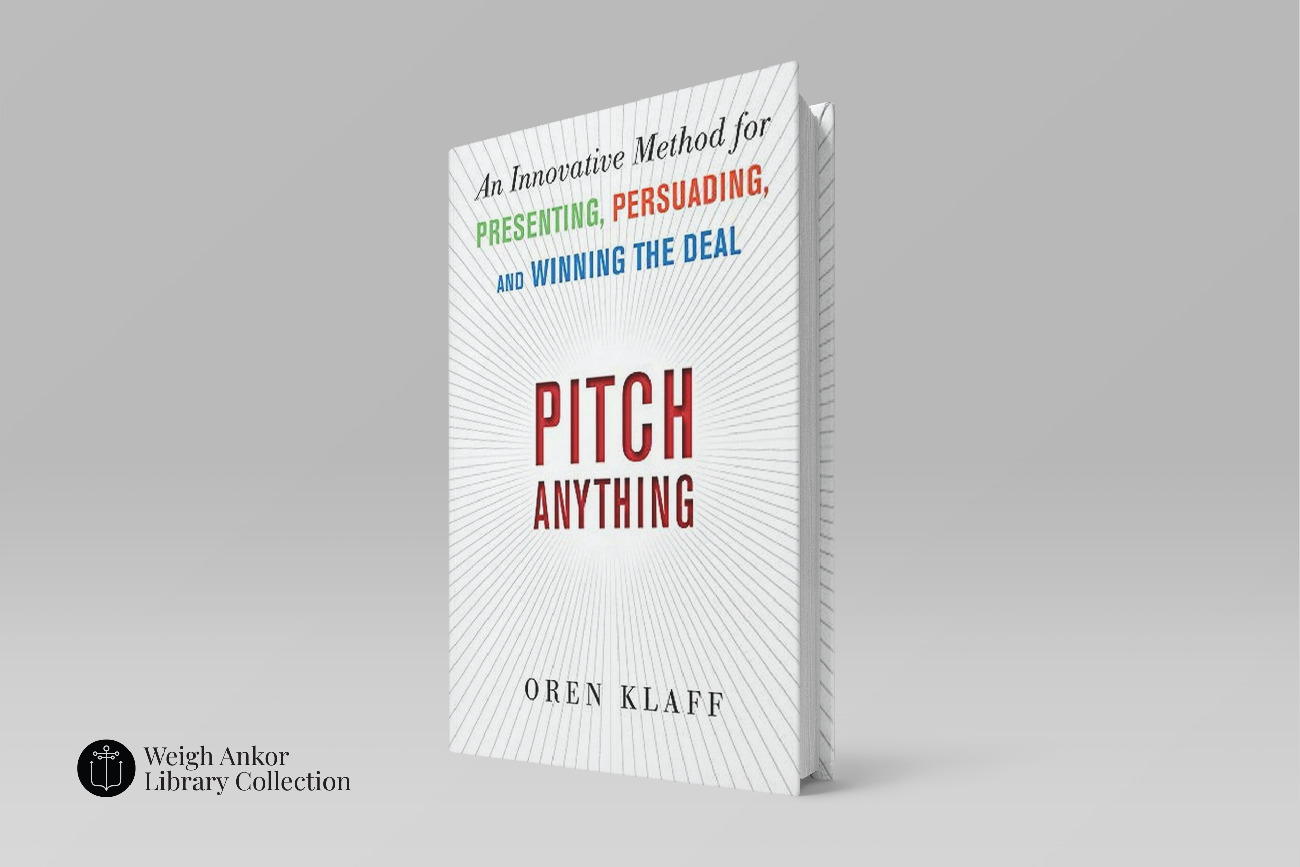 Monthly Reading: Pitch Anything