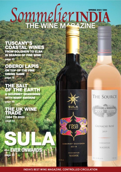 Sommelier India Cover