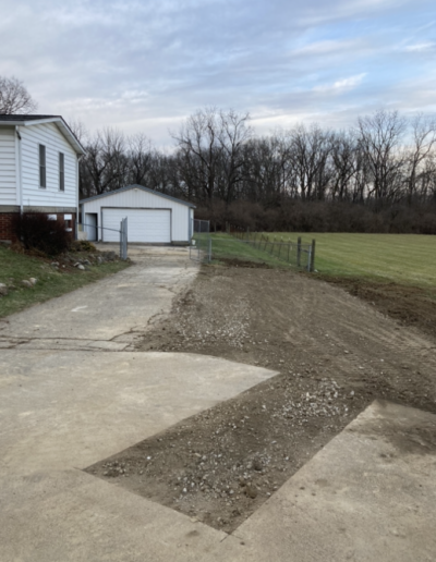 excavating and grading