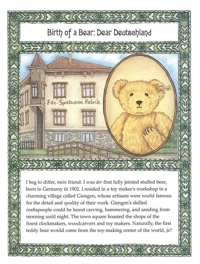 """""""Tale of Two Teddies"""" by Kathleen Bart - Sample Page"""