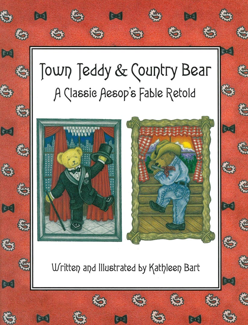 """""""Town Teddy and Country Bear"""" by Kathleen Bart - Cover"""