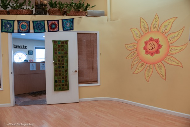 Mural for the Sun Studio at Absolute Yoga, Woodbury. Photo: LMRose Photography