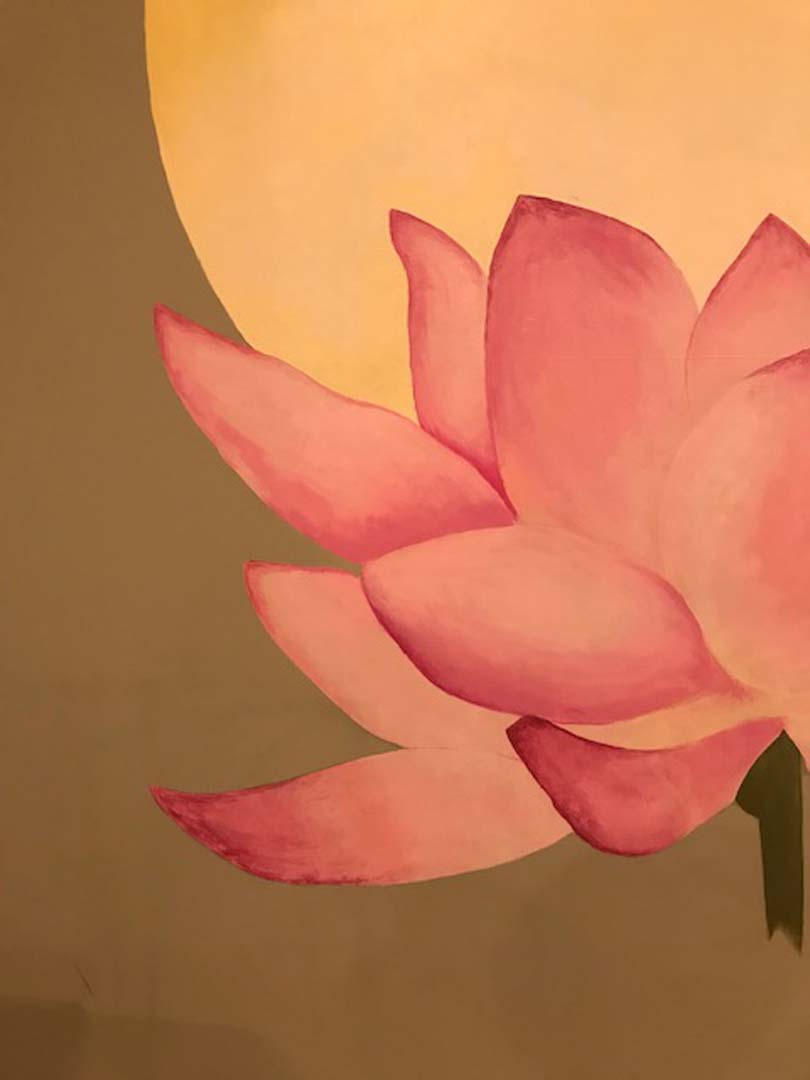 Mural Restoration - Absolute Yoga, Woodbury, NY