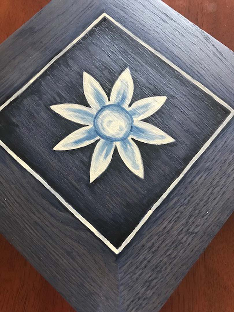 Wood Wall Art Inspired by Tuscan Tiles