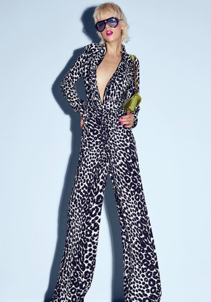 Tom Ford goes wild with leopard prints.