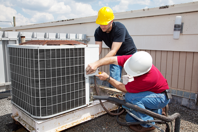 AC Installation Color   All City Air Conditioning & Heating