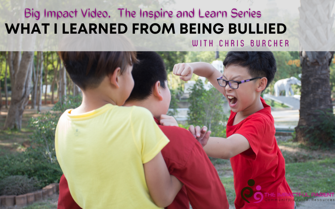 What I Learned From Being Bullied