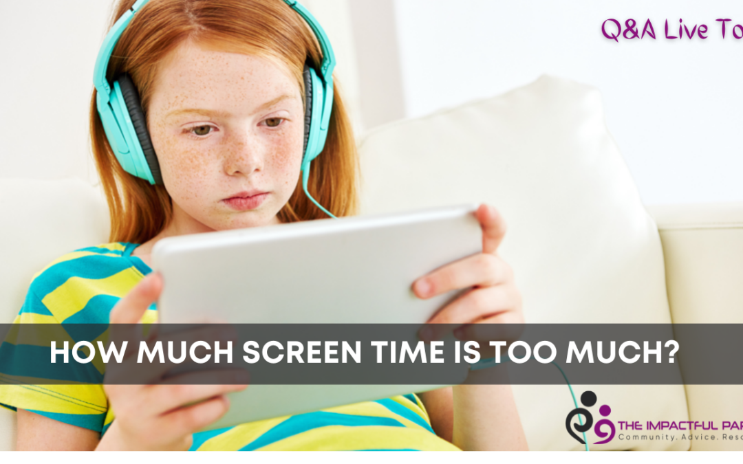 How Much Is Too Much Screen Time?