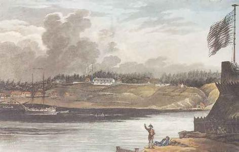 Lt Col Bishops Raid on Black Rock in the War of 1812