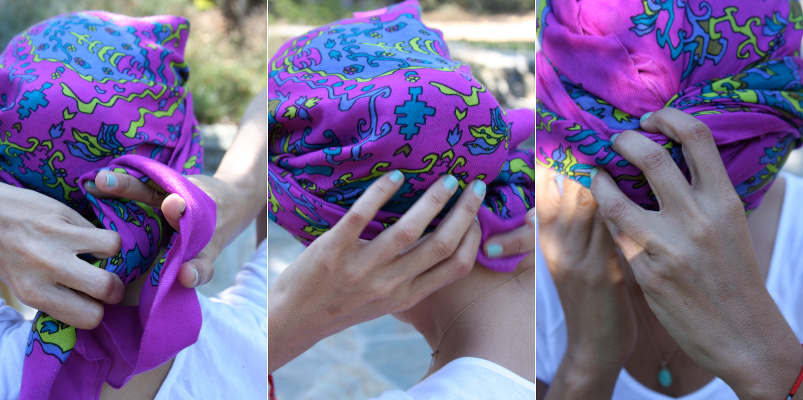10 Ways To Tie A Turban/ Headscarf - Youth Village