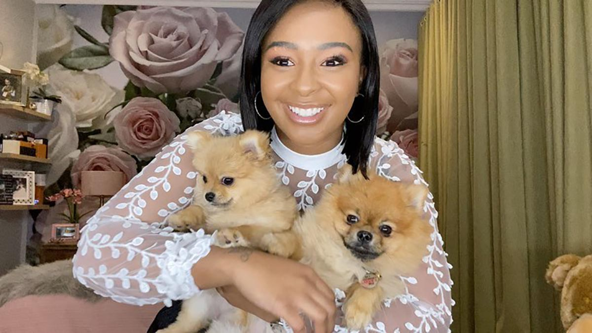 """""""My Slay Puppies,"""" Boity Gushes Over Her Babies"""