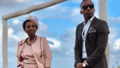 Photo of Watch! Andile Ncube Shows Off His 83 Year Old Grandmother's Singing Skills