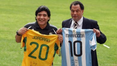 Photo of SA Celebs React To The Death Of Football Legend Diego Maradona