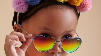 Photo of Pics! Kairo Looking All Kinds Of Cute Modelling Her Cool Sunglasses Collection