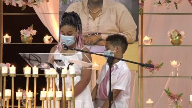 Photo of Watch! Dr Sindi Van Zyl's Children Pay Touching Tribute To Their Mother #TheCaramellos