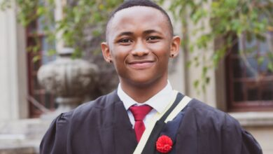 "Photo of ""I'm Now A UCT Finance Graduate,"" Ntobeko Sishi"