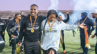 """Photo of """"Sometimes Being A Woman In A Man's Territory Is Difficult,"""" Shauwn Mkhize On Her Road To The Premier Soccer League"""
