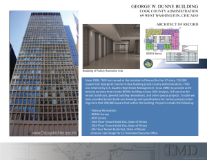 George W. Dunne Office Building - Architect of Record