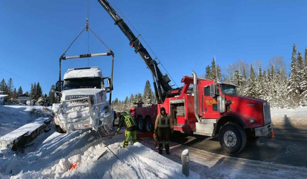Truck recovery services Surrey