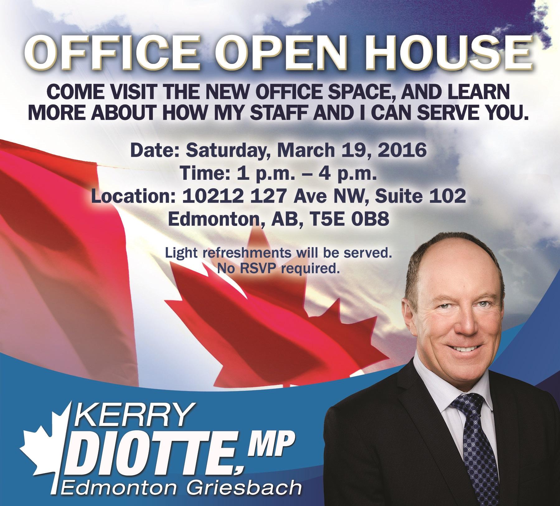 Office Open House Invite
