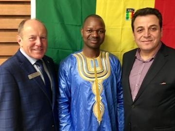 At Mali Independence  Day celebrations - September 23, 2018