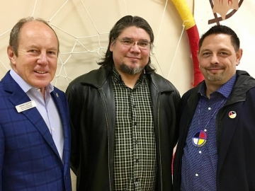 Meeting at the Canadian Native Friendship Centre - Sept. 22, 2017