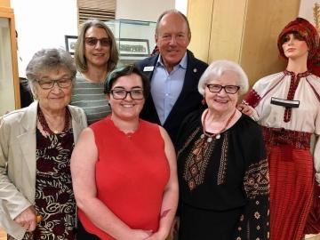 Meeting with the Ukrainian Catholic Women's League - August 15, 2017