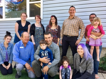 Touring the KARA Family Resource Centre - August 3, 2017