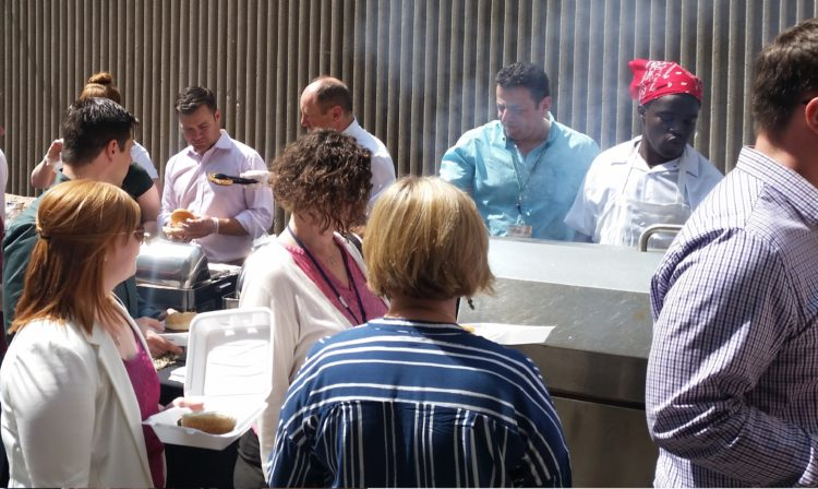 BBQ Fundraiser at the Lord Elgin