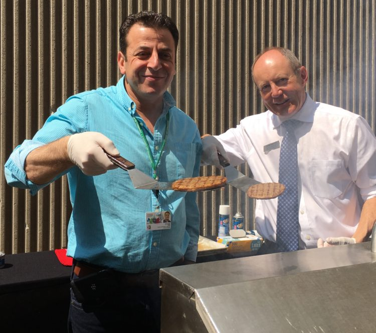 BBQ Fundraiser at the Lord Elgin - Flipping Burgers with Ziad Aboultaif, MP