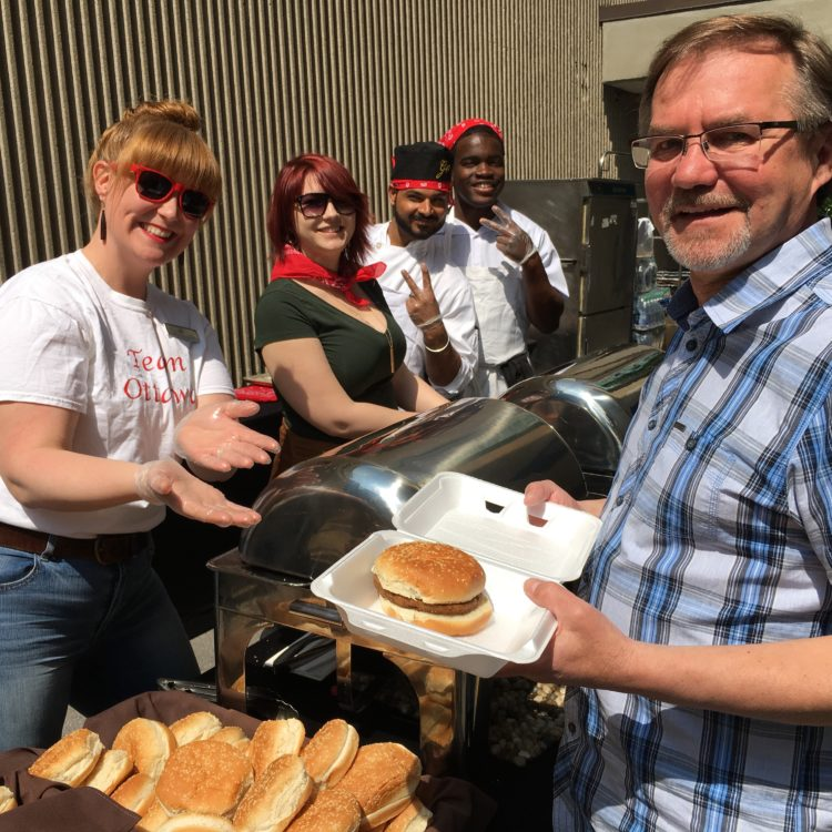 BBQ Fundraiser at the Lord Elgin - Volunteers